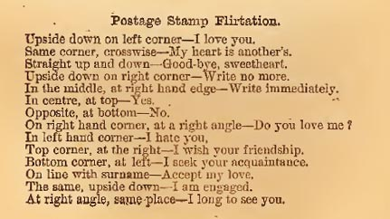 More Victorian Love Letters and the Basics of Postage Stamp